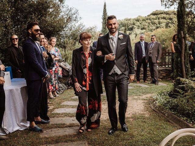 Il matrimonio di Marco e Veronica a Buti, Pisa 39