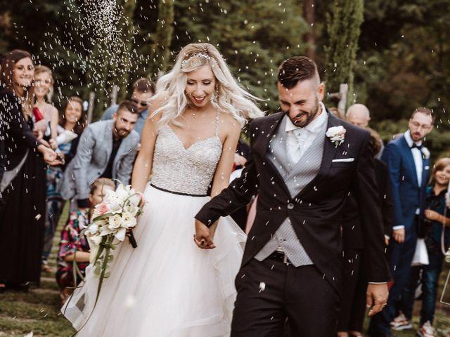 Il matrimonio di Marco e Veronica a Buti, Pisa 54
