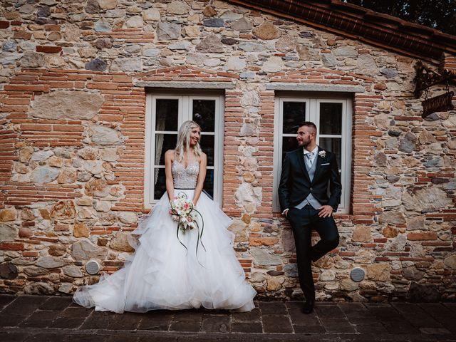 Il matrimonio di Marco e Veronica a Buti, Pisa 69