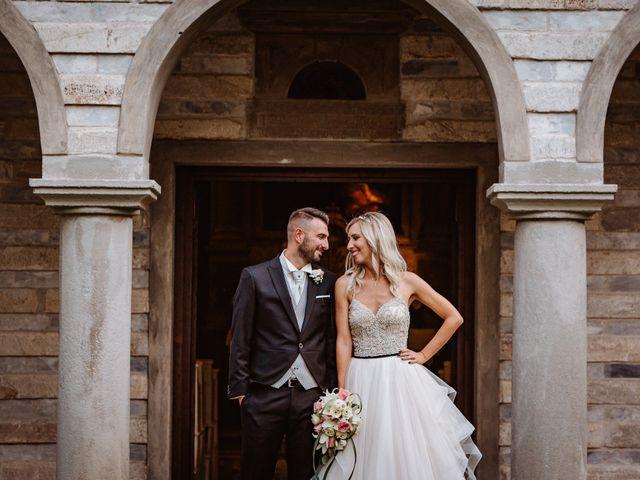 Il matrimonio di Marco e Veronica a Buti, Pisa 77