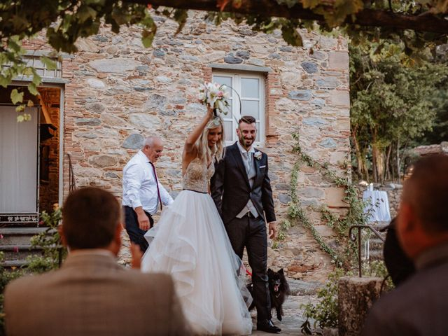 Il matrimonio di Marco e Veronica a Buti, Pisa 80
