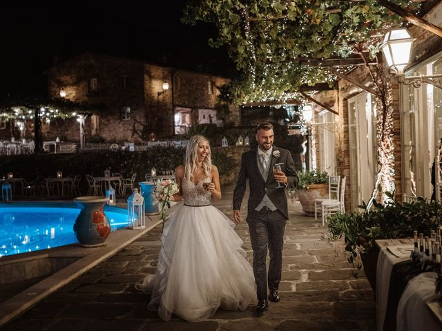 Il matrimonio di Marco e Veronica a Buti, Pisa 89