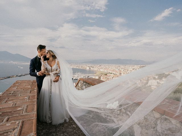 Il matrimonio di Tonia e Giuseppe a Castellammare di Stabia, Napoli 41