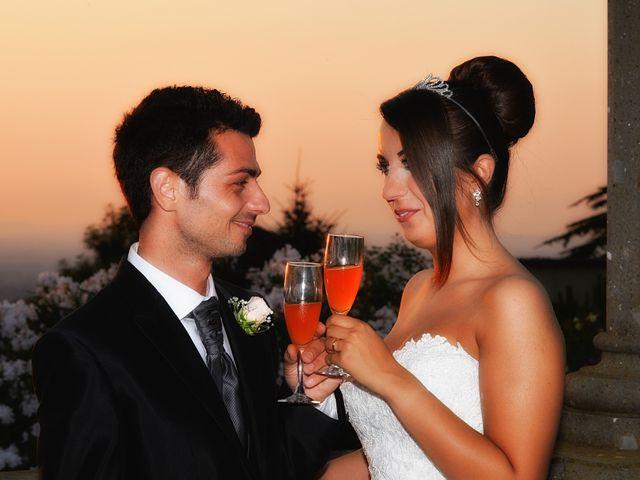 Le nozze di Vanessa e Fabrizio