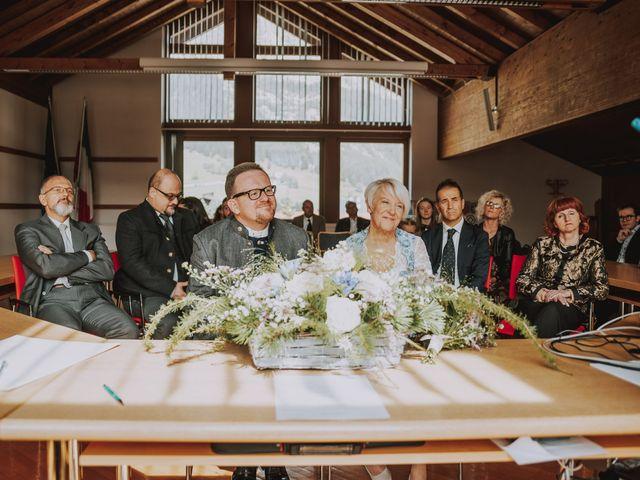 Il matrimonio di Andrea e Anita a Corvara in Badia- Corvara, Bolzano 35