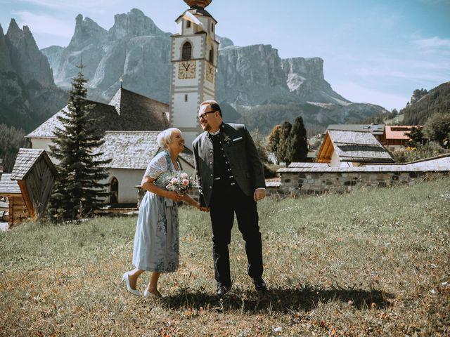 Il matrimonio di Andrea e Anita a Corvara in Badia- Corvara, Bolzano 51