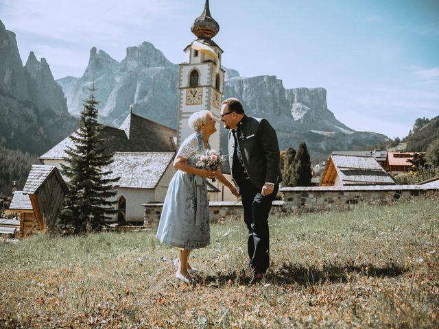Il matrimonio di Andrea e Anita a Corvara in Badia- Corvara, Bolzano 52