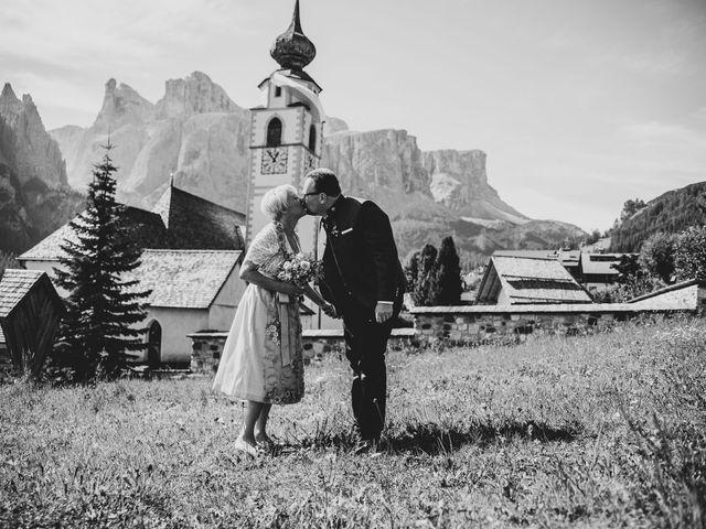 Il matrimonio di Andrea e Anita a Corvara in Badia- Corvara, Bolzano 53