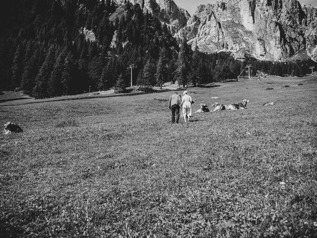 Il matrimonio di Andrea e Anita a Corvara in Badia- Corvara, Bolzano 70