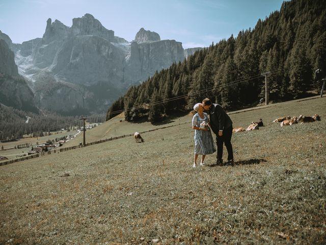 Il matrimonio di Andrea e Anita a Corvara in Badia- Corvara, Bolzano 76