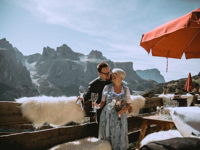 Il matrimonio di Andrea e Anita a Corvara in Badia- Corvara, Bolzano 119
