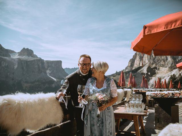 Il matrimonio di Andrea e Anita a Corvara in Badia- Corvara, Bolzano 121