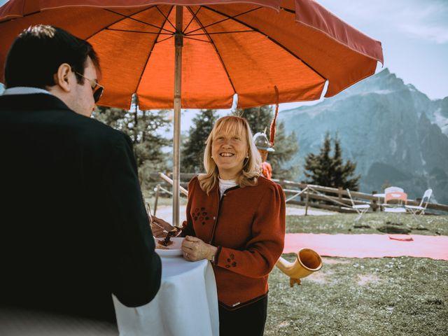 Il matrimonio di Andrea e Anita a Corvara in Badia- Corvara, Bolzano 133