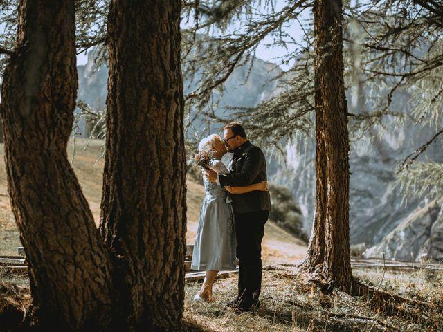 Il matrimonio di Andrea e Anita a Corvara in Badia- Corvara, Bolzano 218