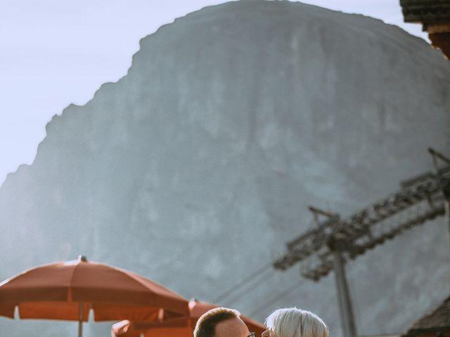 Il matrimonio di Andrea e Anita a Corvara in Badia- Corvara, Bolzano 281