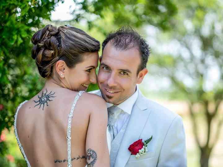 Le nozze di Erika e Luca