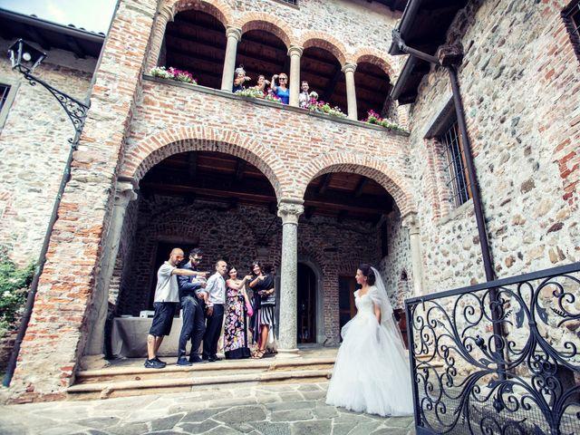 Il matrimonio di Andrea e Micaela a Montevecchia, Lecco 35