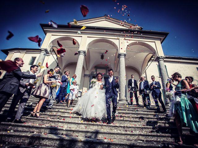 Il matrimonio di Andrea e Micaela a Montevecchia, Lecco 61