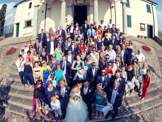 Il matrimonio di Andrea e Micaela a Montevecchia, Lecco 64