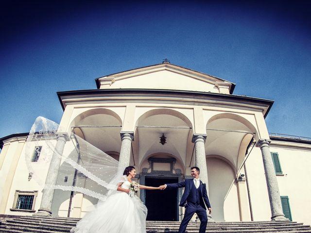 Il matrimonio di Andrea e Micaela a Montevecchia, Lecco 67