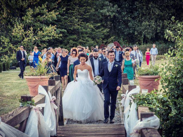 Il matrimonio di Andrea e Micaela a Montevecchia, Lecco 80