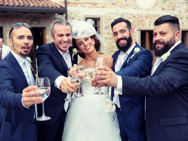 Il matrimonio di Andrea e Micaela a Montevecchia, Lecco 94