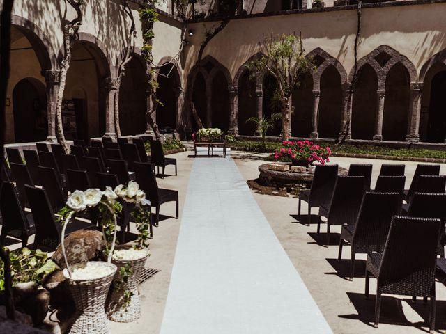 Il matrimonio di Michael e Anna a Sorrento, Napoli 31