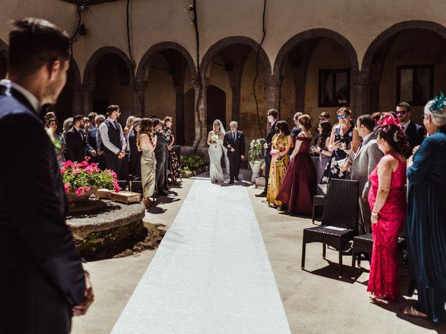 Il matrimonio di Michael e Anna a Sorrento, Napoli 43