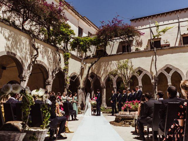 Il matrimonio di Michael e Anna a Sorrento, Napoli 51