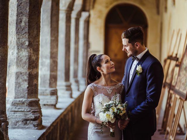 Il matrimonio di Michael e Anna a Sorrento, Napoli 57