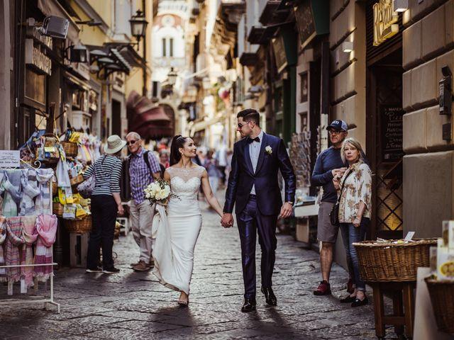 Il matrimonio di Michael e Anna a Sorrento, Napoli 64
