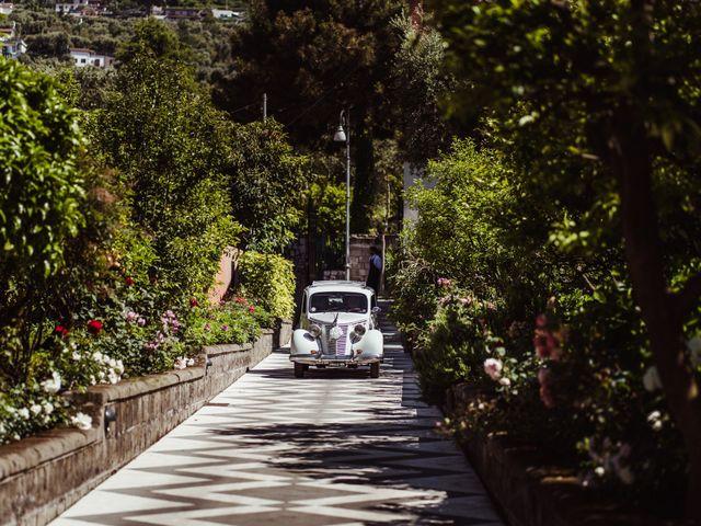 Il matrimonio di Michael e Anna a Sorrento, Napoli 67