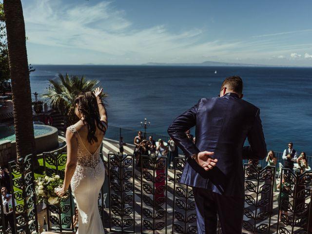 Il matrimonio di Michael e Anna a Sorrento, Napoli 71
