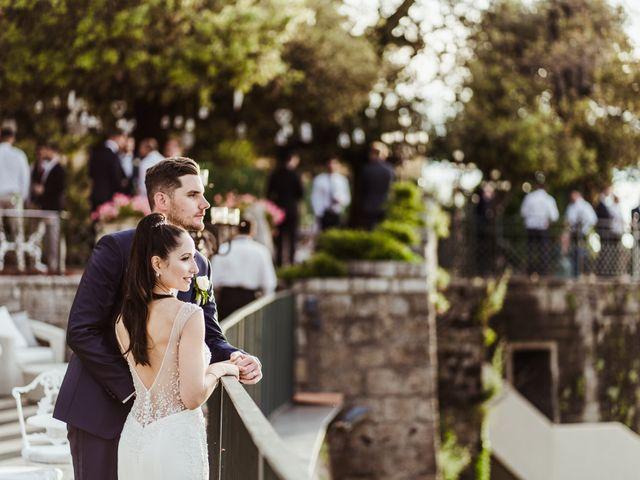 Il matrimonio di Michael e Anna a Sorrento, Napoli 82