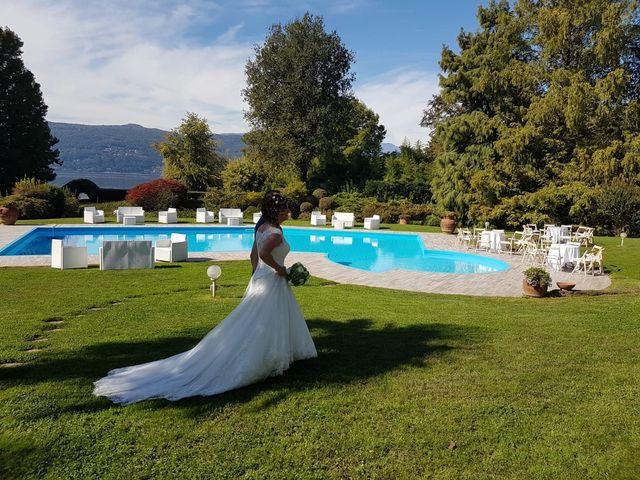 Il matrimonio di Walter e Giusy a Monvalle, Varese 17