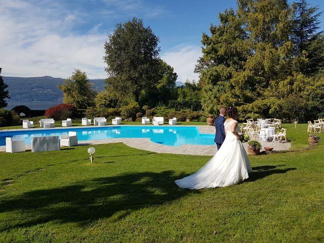 Il matrimonio di Walter e Giusy a Monvalle, Varese 18