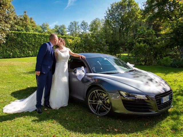 Il matrimonio di Walter e Giusy a Monvalle, Varese 2
