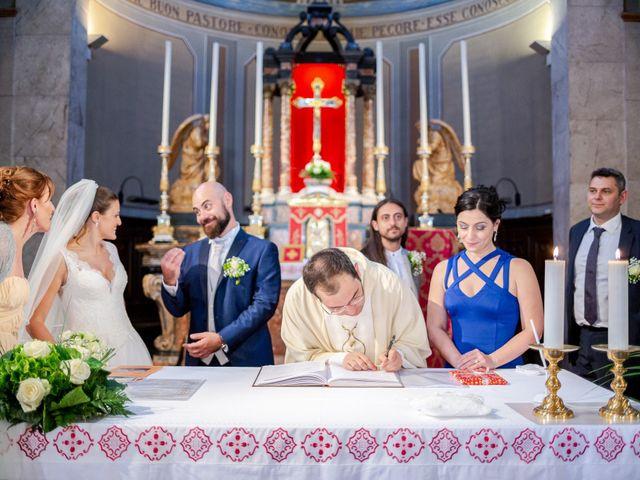 Il matrimonio di Alessio e Sara a Pantigliate, Milano 84
