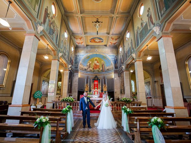Il matrimonio di Alessio e Sara a Pantigliate, Milano 85