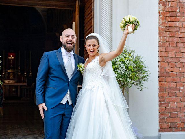 Il matrimonio di Alessio e Sara a Pantigliate, Milano 94