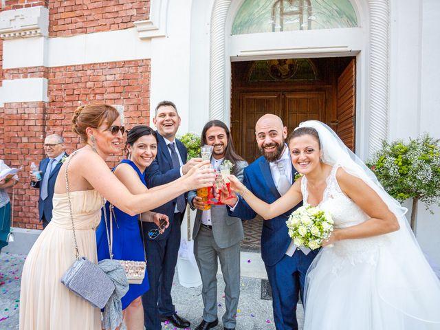 Il matrimonio di Alessio e Sara a Pantigliate, Milano 95