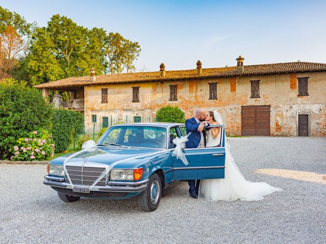 Il matrimonio di Alessio e Sara a Pantigliate, Milano 113