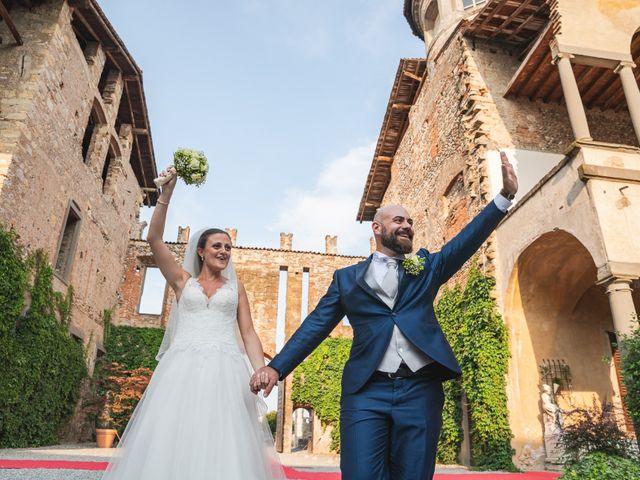 Il matrimonio di Alessio e Sara a Pantigliate, Milano 117