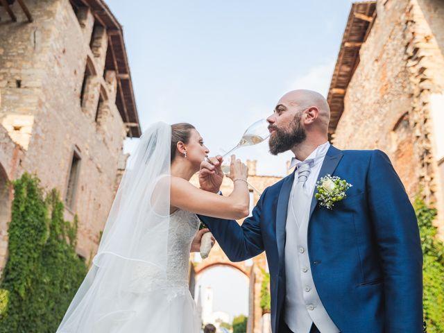 Il matrimonio di Alessio e Sara a Pantigliate, Milano 118