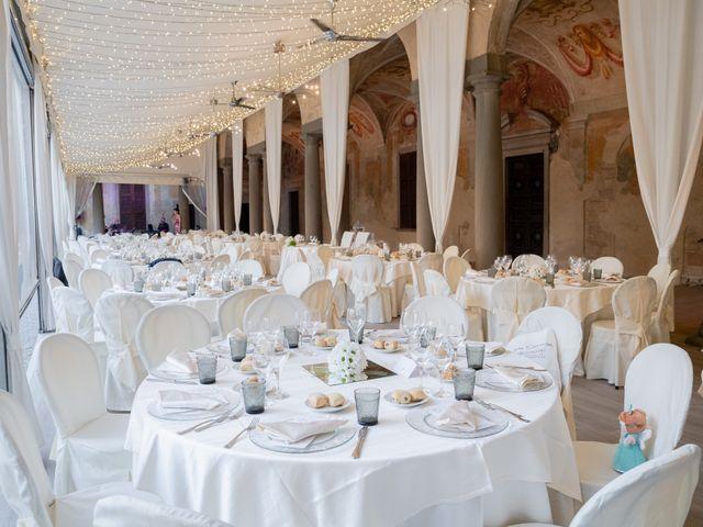 Il matrimonio di Alessio e Sara a Pantigliate, Milano 121