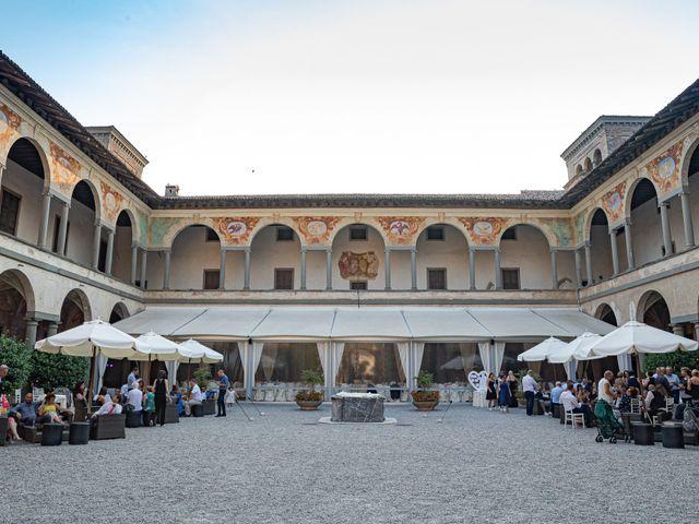 Il matrimonio di Alessio e Sara a Pantigliate, Milano 125
