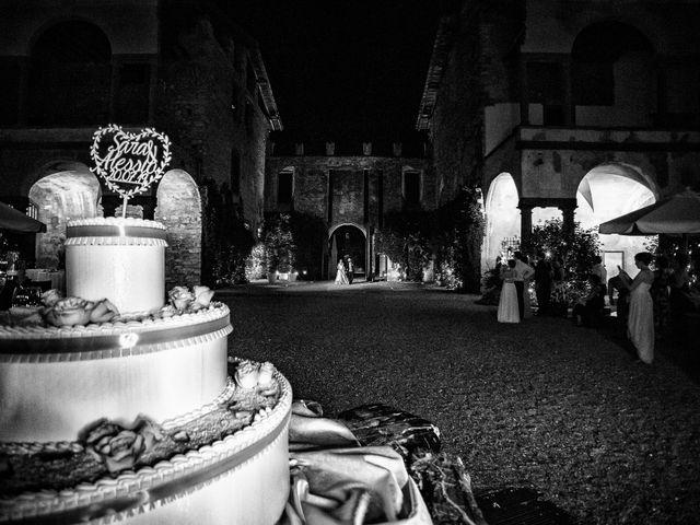 Il matrimonio di Alessio e Sara a Pantigliate, Milano 156