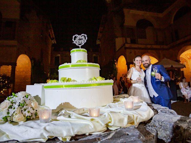 Il matrimonio di Alessio e Sara a Pantigliate, Milano 161