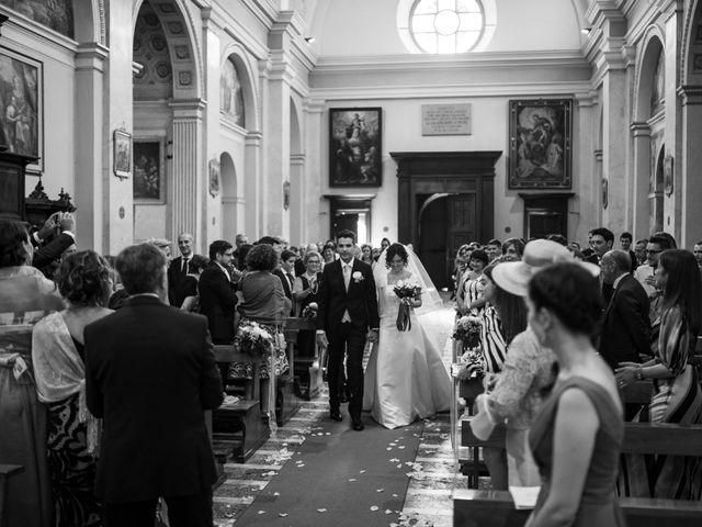 Il matrimonio di Elia e Elena a Cislago, Varese 43