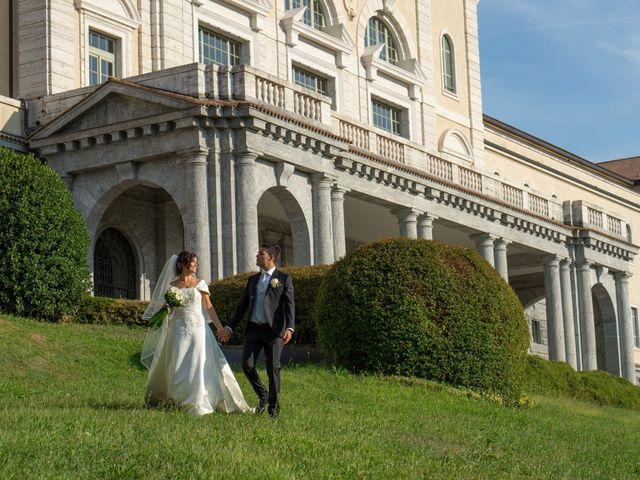 Il matrimonio di Elia e Elena a Cislago, Varese 63